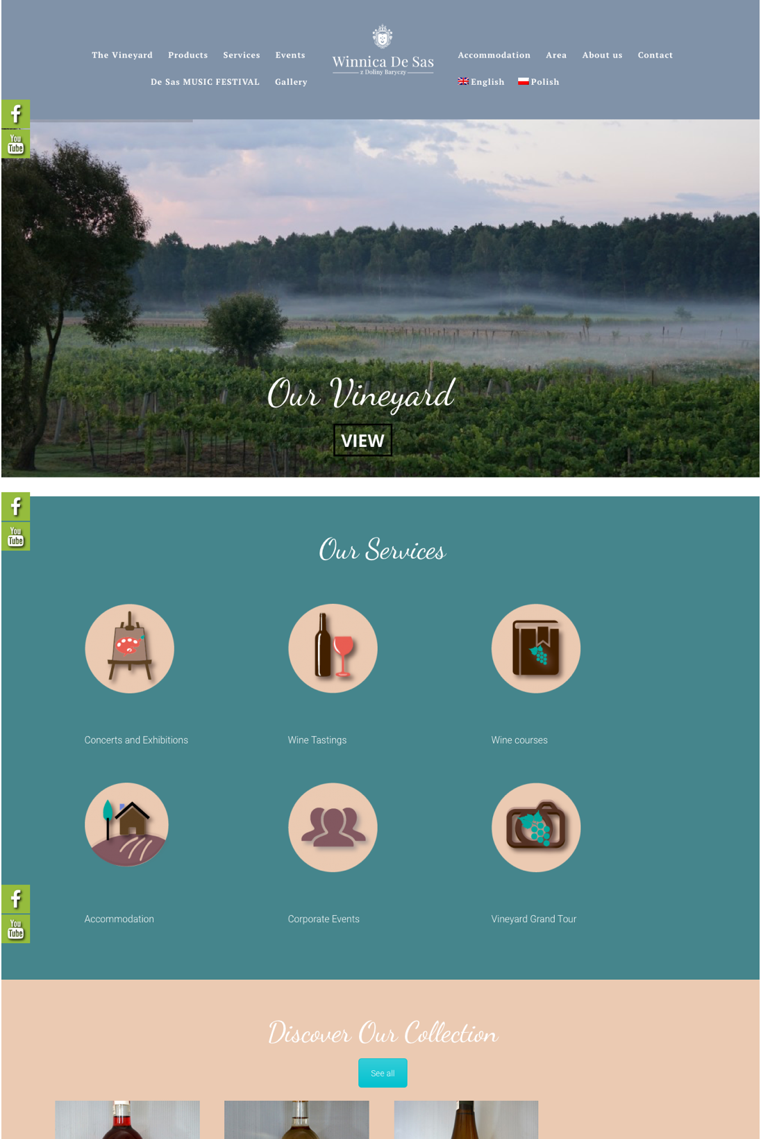 IMWeb for DeSasVineyard|Home Page